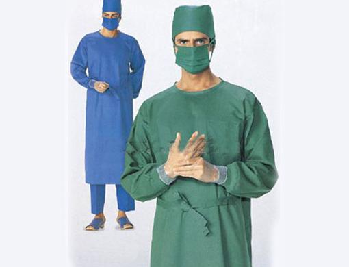 叠手术衣的步骤图片